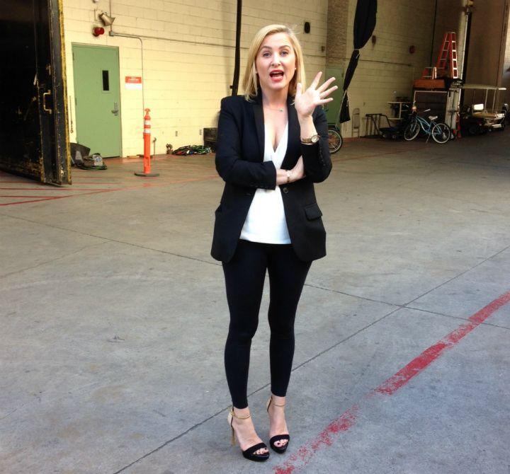 Jessica Capshaw On Set | TV series 海外ドラマ | Pinterest