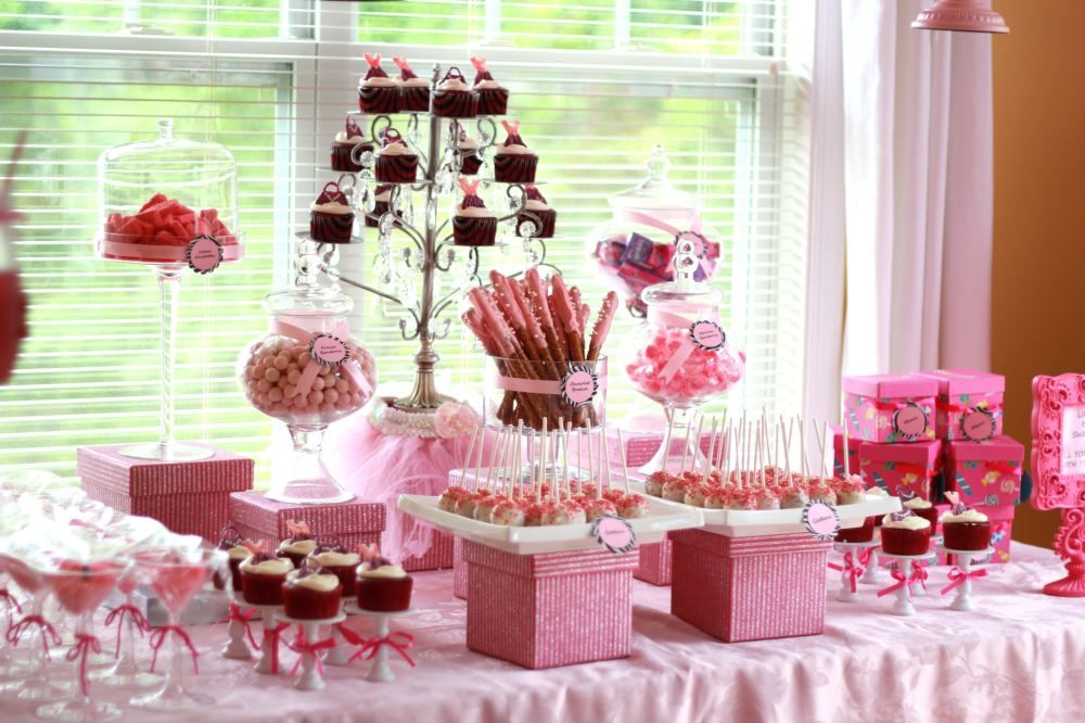 Sweet Table Candy Party Fiesta Decorations Candy Table