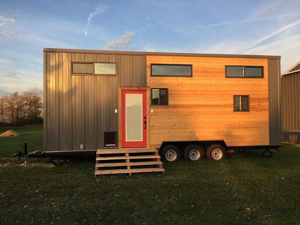 28ft Expedition Tiny House by Maverick Tiny Homes in 2020