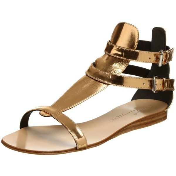 74c94a657ecd Tapeet by Vicini Women s Y80002 Gladiator Flat Sandal (3.520 ARS) ❤ liked  on Polyvore