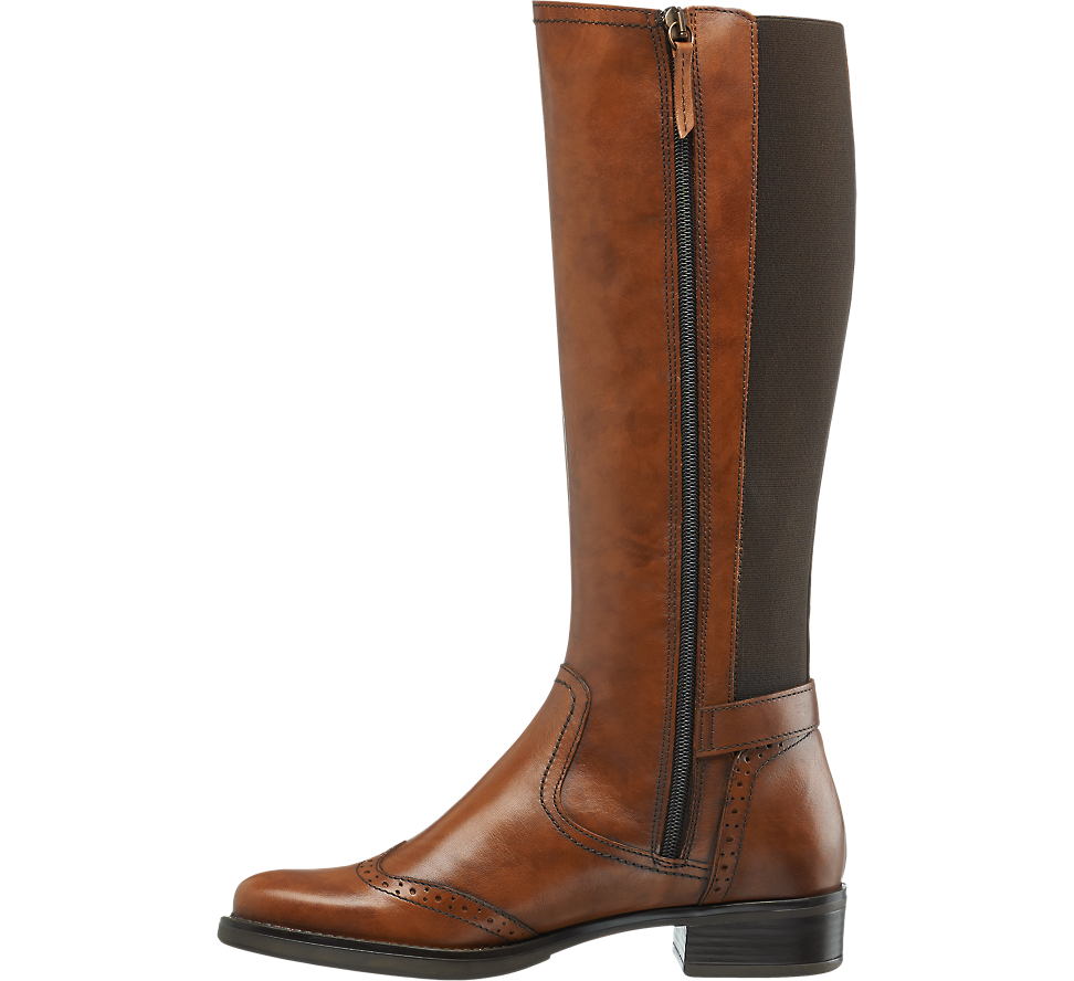 Skorzane Kozaki Damskie 5th Avenue 1116917 Boots Riding Boots Shoes
