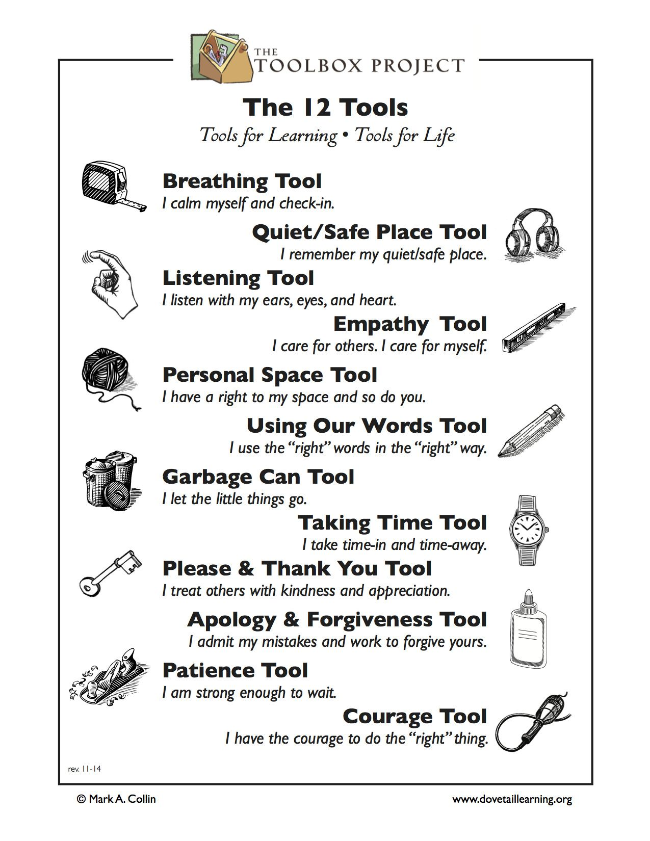 Toolbox 12 Tools Flyer Parentage