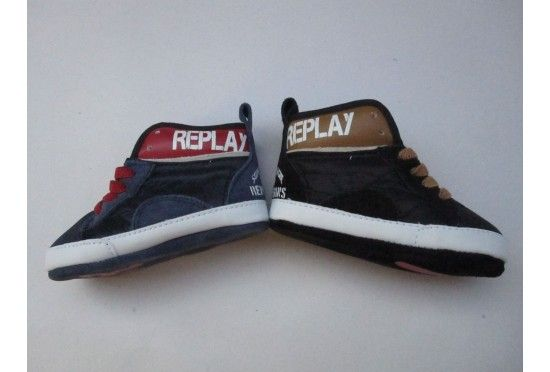 19b95fc9753 βρεφικά παπουτσάκια αγκαλιάς Replay για αγόρια | Βρεφικά παπούτσια ...