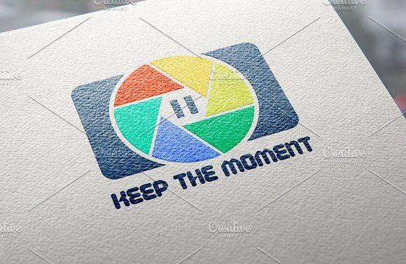 {-50%}Keep The Moment Logo Template by JeksonGraphics on @creativemarket