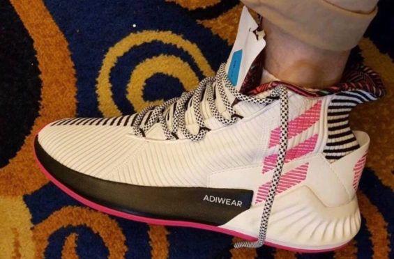 Un primer vistazo a la Adidas D Rose 9 Dr Wongs Emporium de Tings