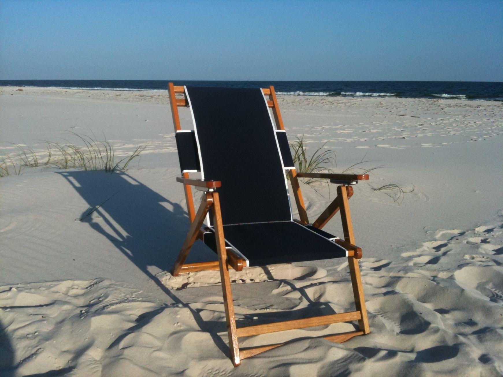Beau Beach Lounge Chair Wood
