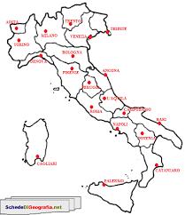 Cartina Politica Italia Capoluoghi.Risultati Immagini Per Regioni E Capoluoghi Italiani Cartina Attivita Geografia Mappa Dell Italia L Insegnamento Della Geografia
