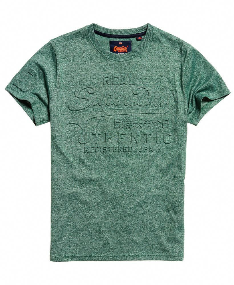 Green Superdry Men/'s Dry Originals Stripe T-Shirt