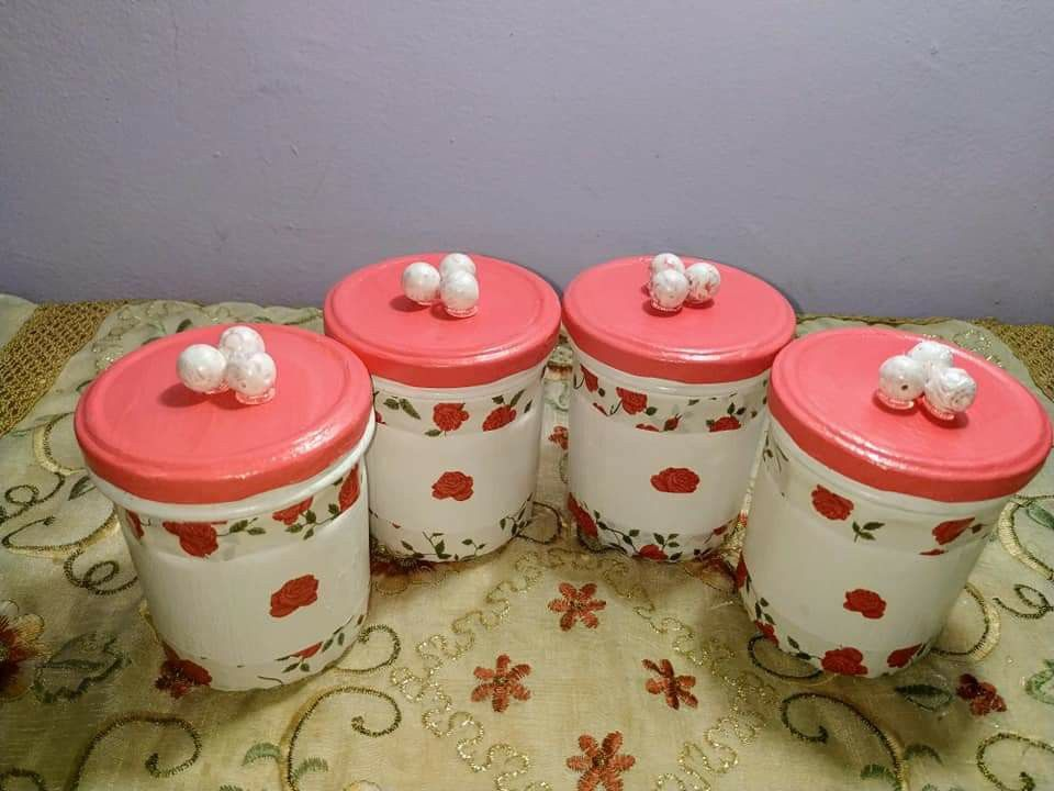 Pin By Nero Badr On N Home Decor Decorative Jars Jar