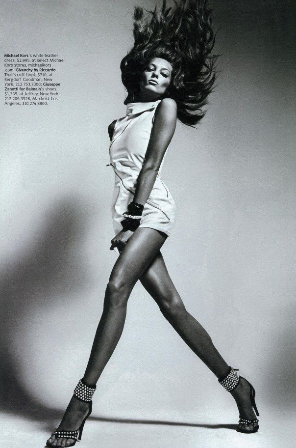 #DariaWerbowy by #MarioSorrenti for #WMagazine April 2010