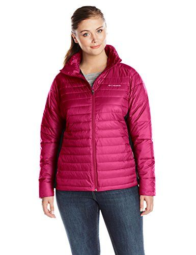0dd2d5396a0 Women s plus-size Powder Pillow Hybrid Jacket Plus.More info could be found  at the image url.(This is an Amazon affiliate link and I receive a  commission ...