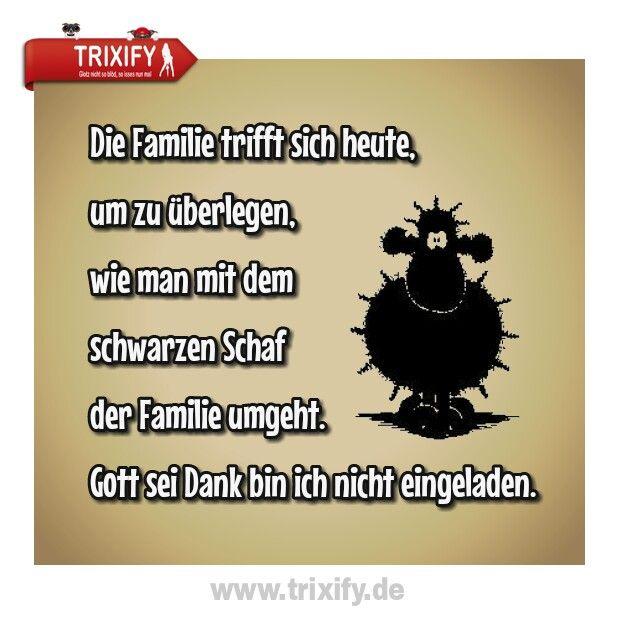 Schwarzes Schaf Der Familie Sprueche