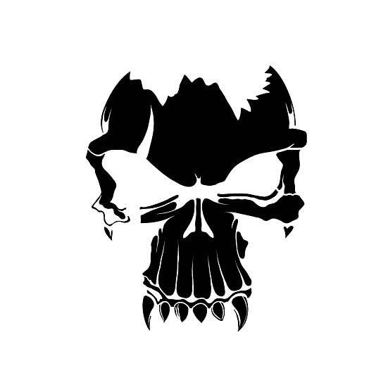 Graffiti Stencils Skull Muchas plantillas o st...