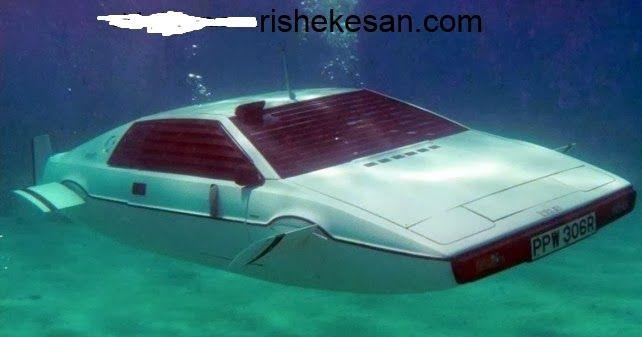 "Elon Musk To Transform The 007 Lotus Esprit ""Submarine Car"" ~ Rishekesan.com"
