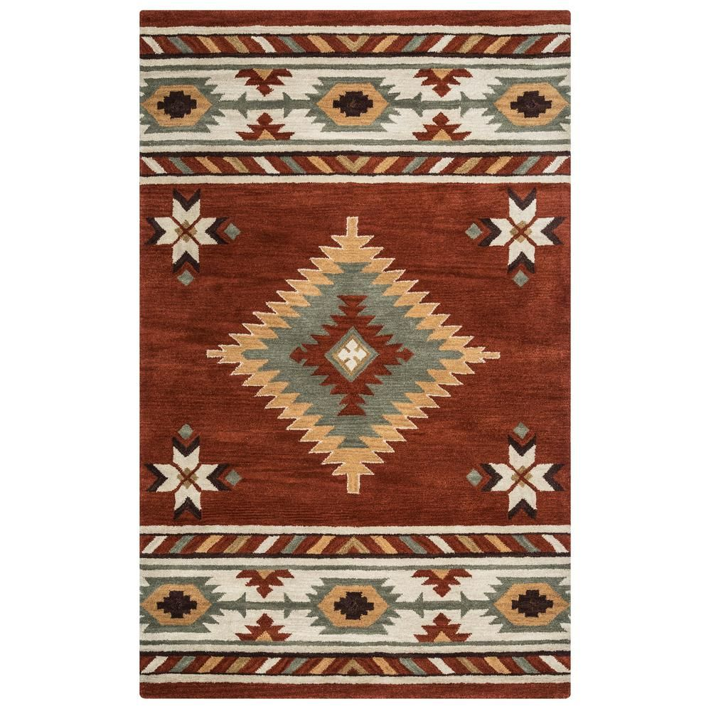 Riztex Usa Ryder Rust 10 Ft X 14 Ft Native American Tribal Area
