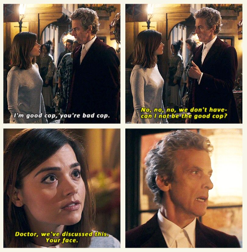Image result for clara oswald im good cop