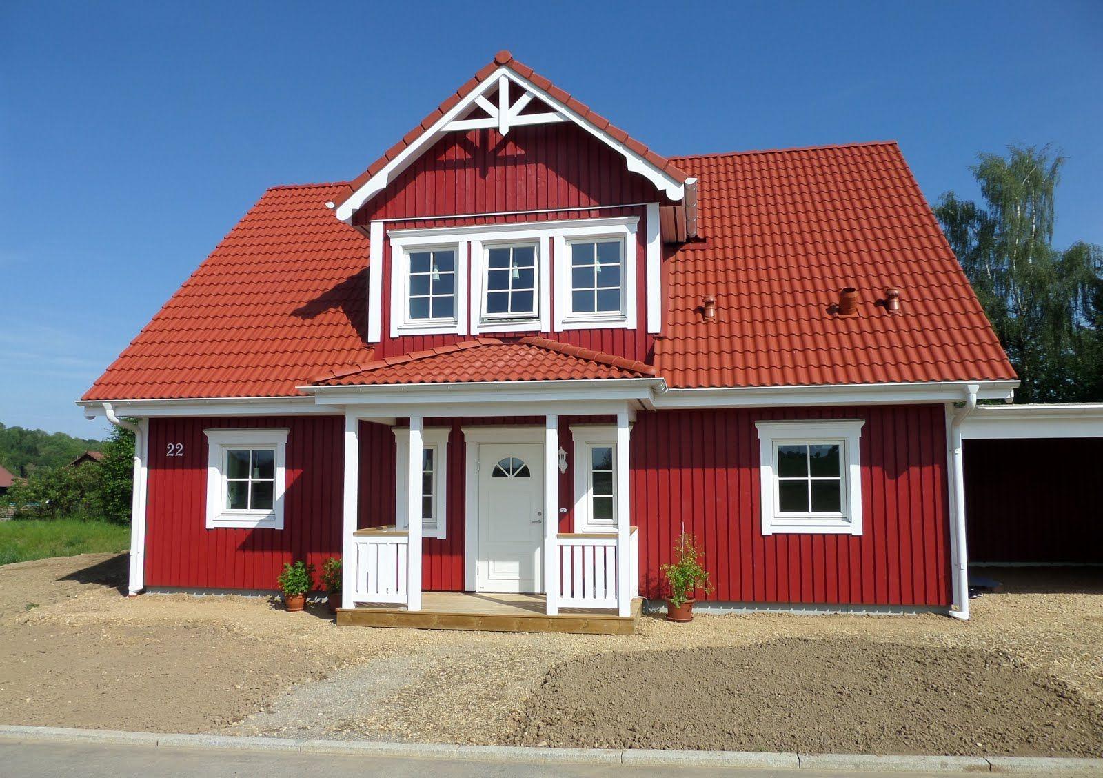 Schwedenhaus fertighaus veranda  Schwedenhaus-Aussenaufnahmen | Das Original | Schwedenhaus ...