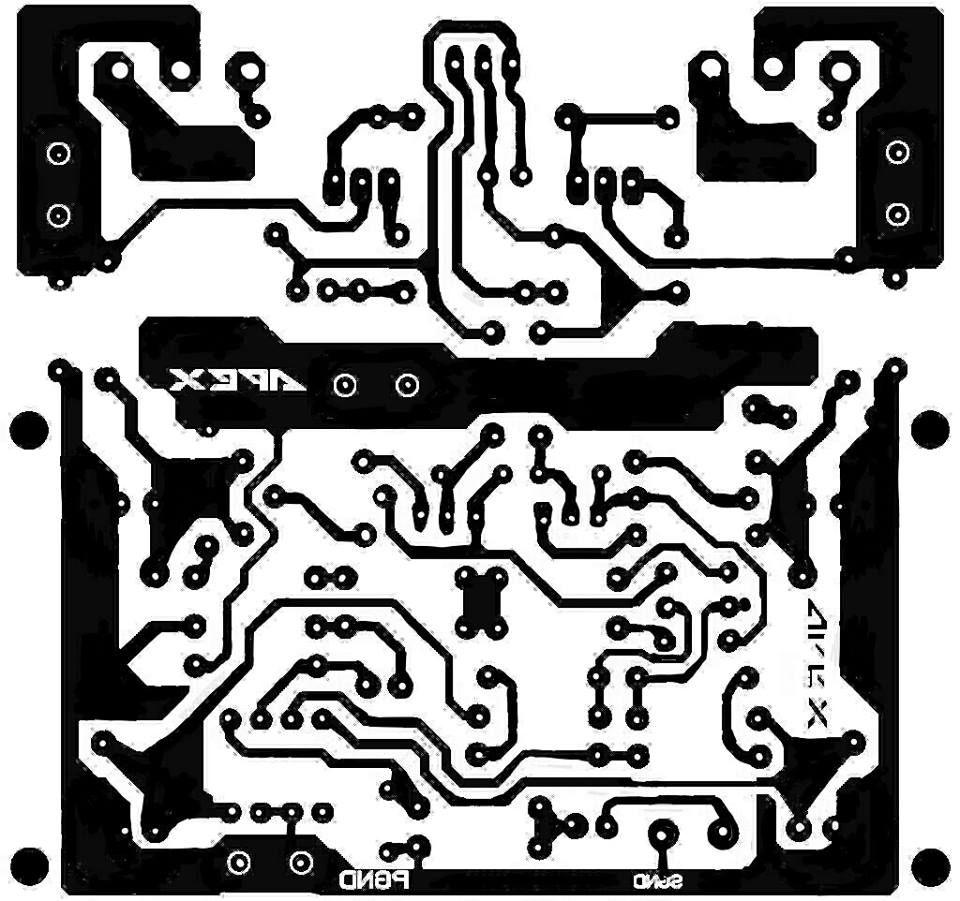 Pcb Power Amplifier Apex A9 Schmy V Roku 2018 Pinterest Amp Classd Circuit Diagram Tradeoficcom