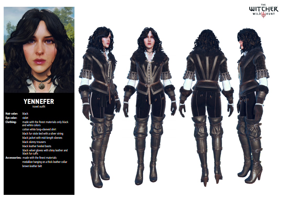 Yennefer - Official reference document
