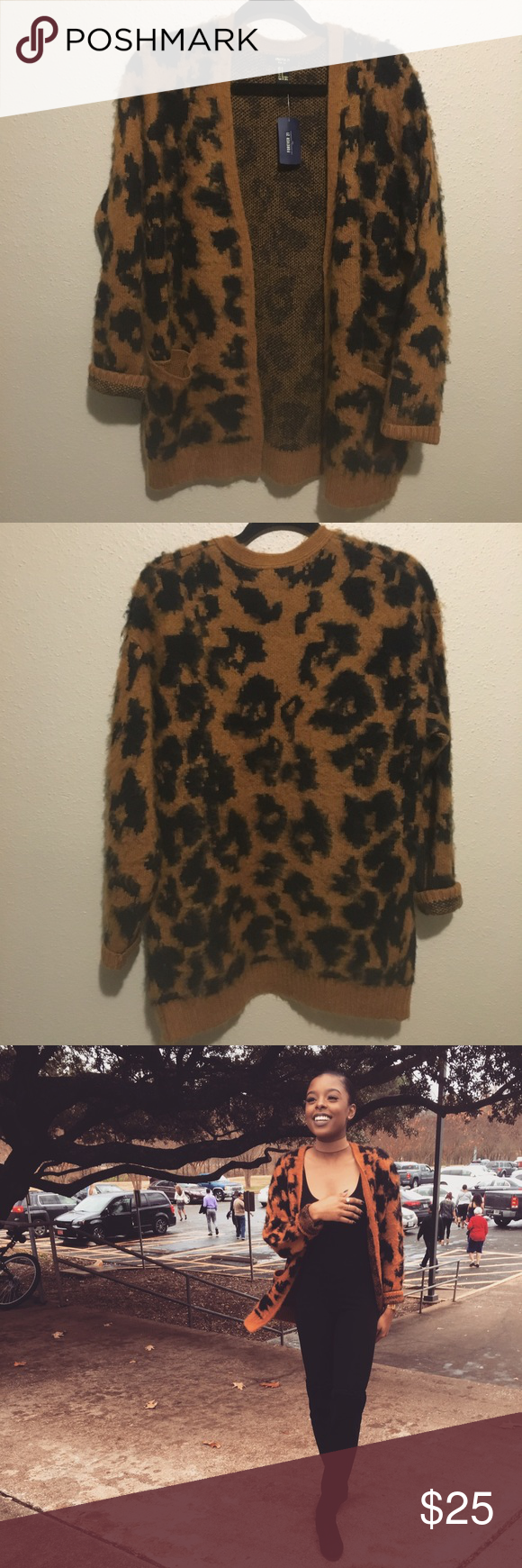 Leopard Print cardigan | Leopards, Forever 21 and Printing