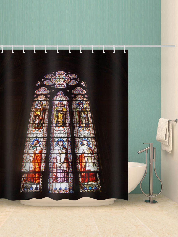 Notre Dame De Paris Scene Waterproof Shower Curtain Ad Spon