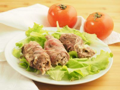 Photo of Baked veal rolls