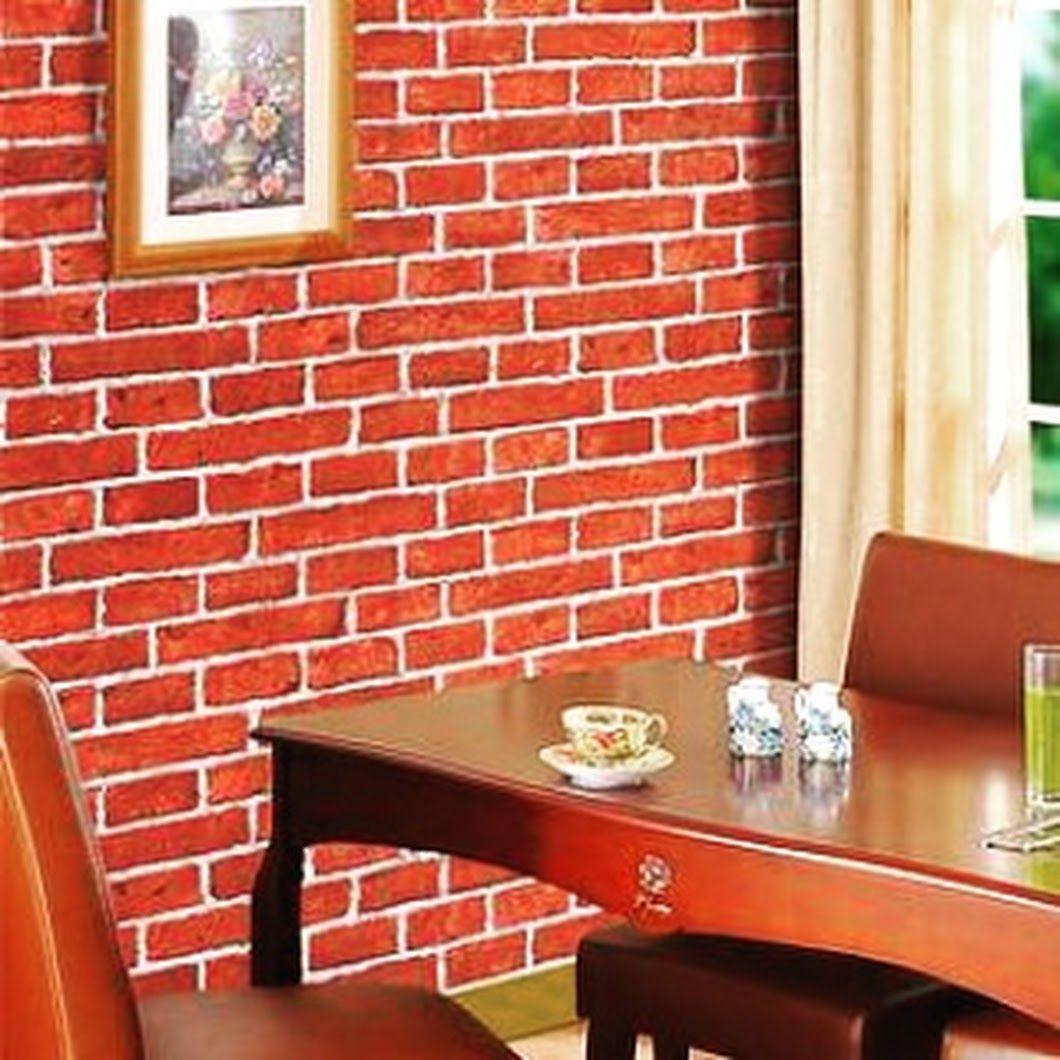 Ramaikan Suasana Interior Bangunan Dengan Wallpaper Motif