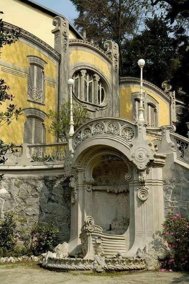 Exterior: Villa Scott Italy Turin Architect Gottardo Gussoni Villa