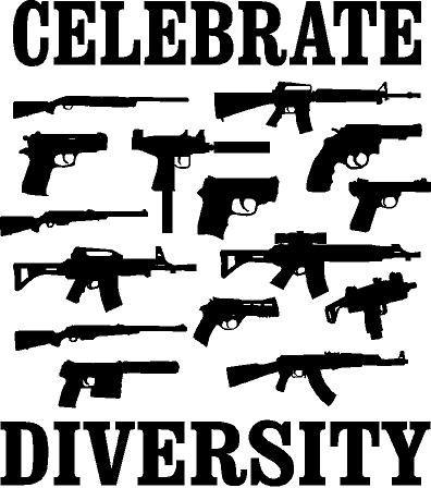 Celebrate diversity window decal