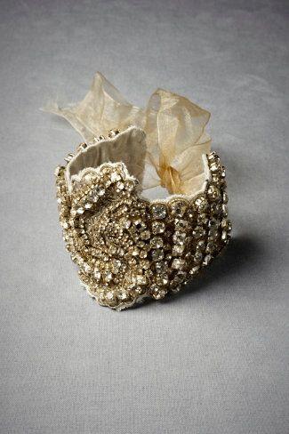 Sinuous Silk Bracelet