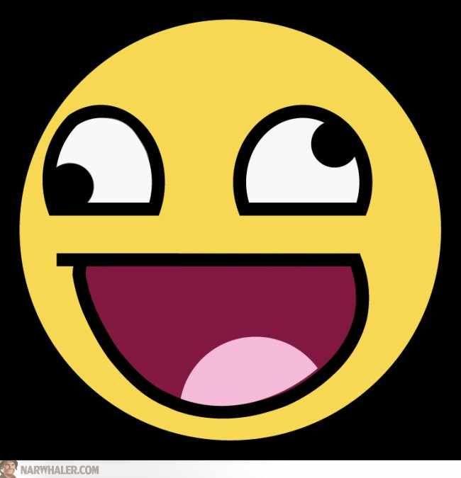 Derp face emoji