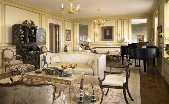 Neoclassical interior design residential masins - Classic home interior design photos ...