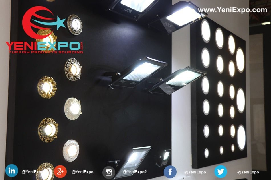 Istanbul Lights Exhibition Led And Electrical Products Ready To