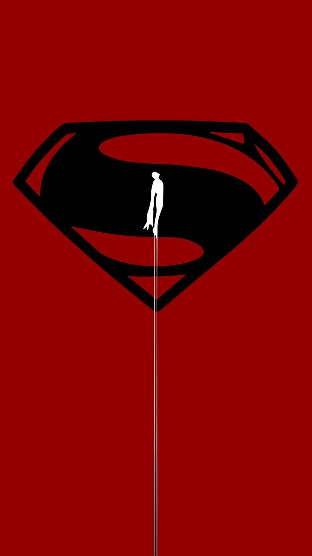 Superman Red Iphone Wallpaper Superman Wallpaper Superman Art