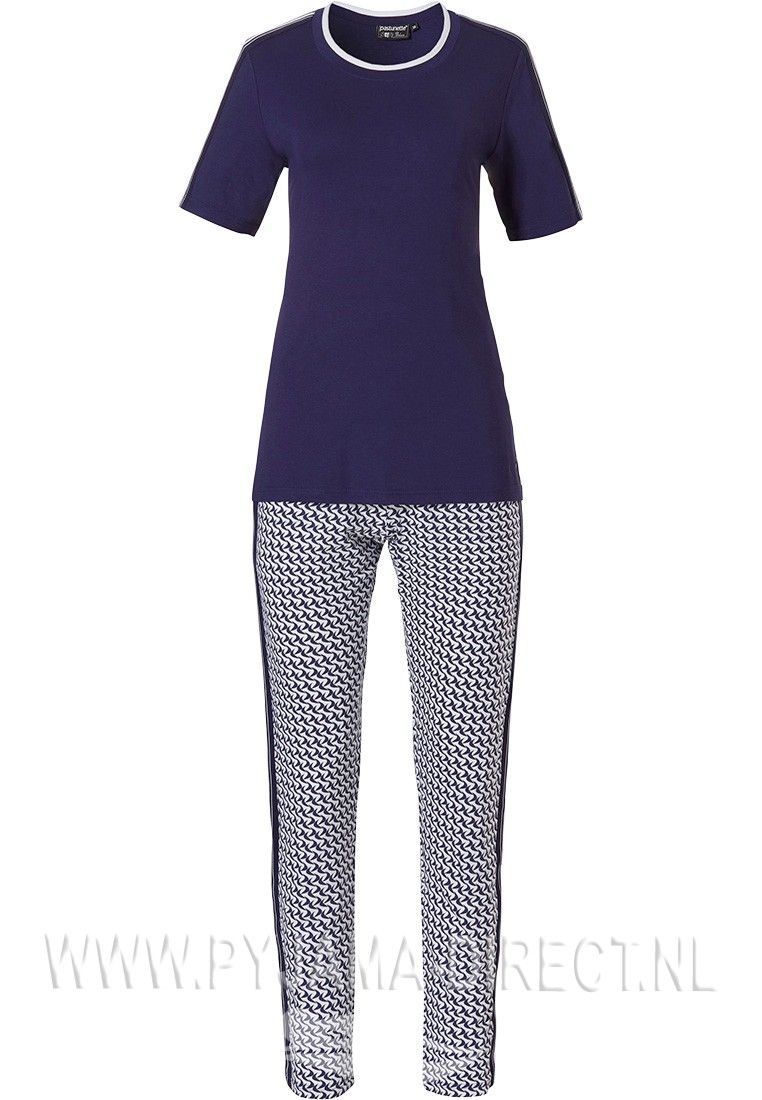 2ad7ac425461dc5185fd8b3503929462 - Dames Pyjama Met Korte Broek