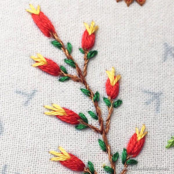 Embroidery for Stitching & Thinking | flores | Pinterest | Bordado ...