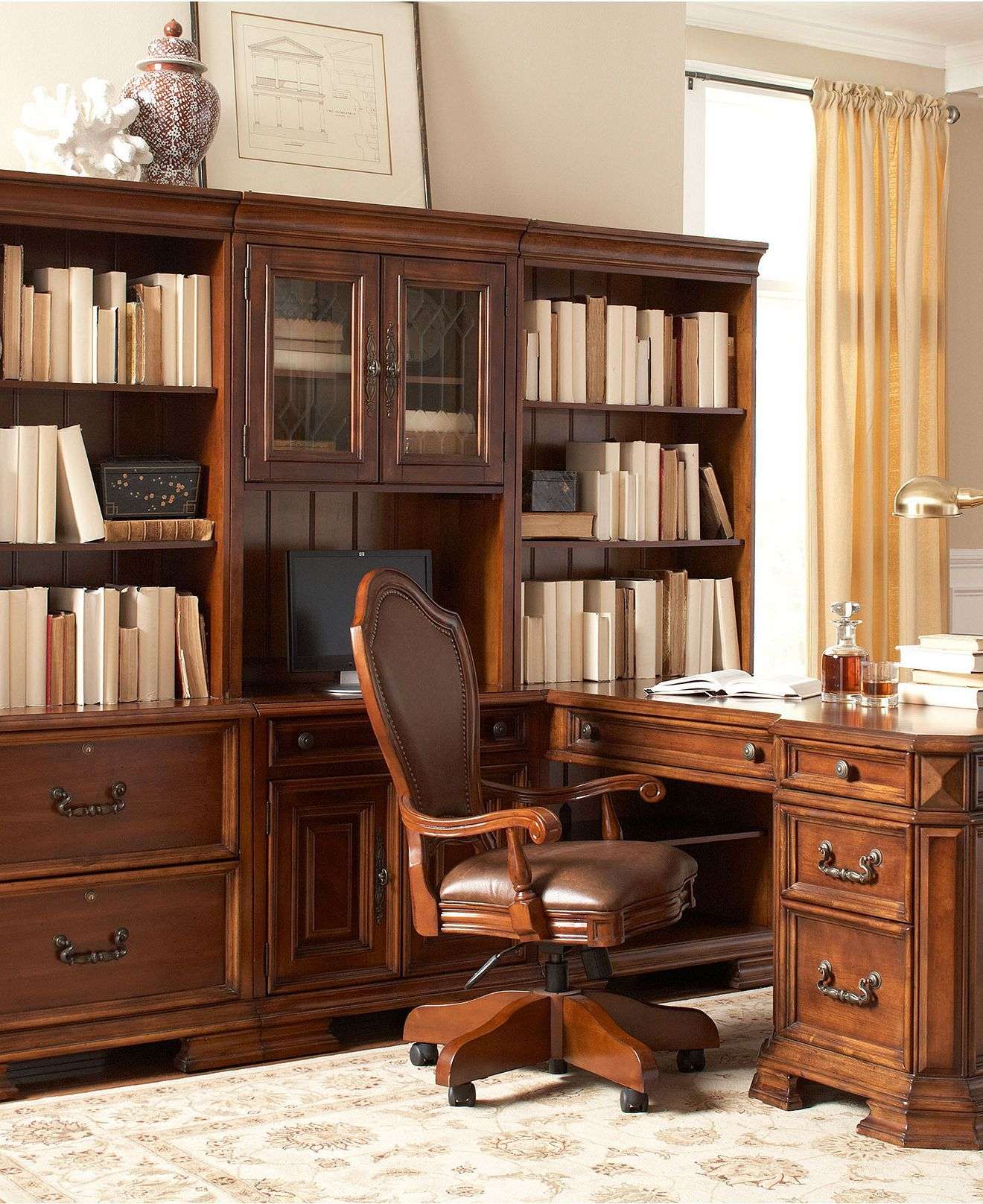 Goodwin Home Office Furniture Macy S