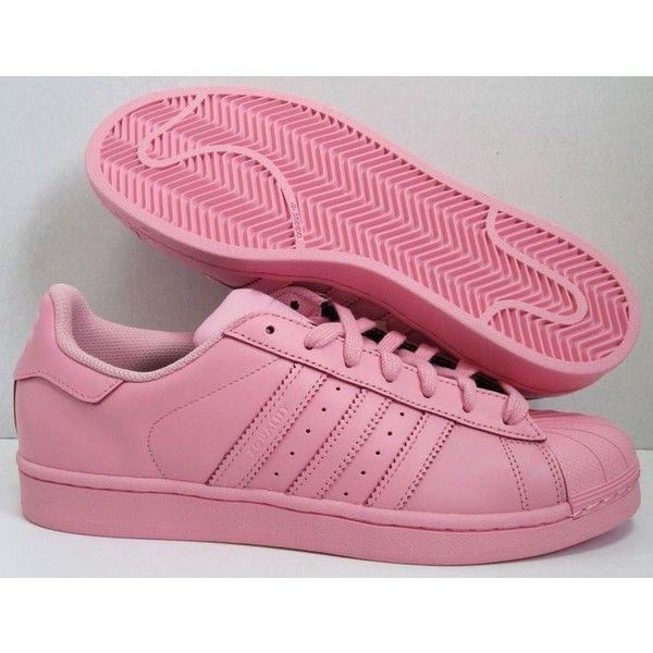 adidas superstar pink pharrell