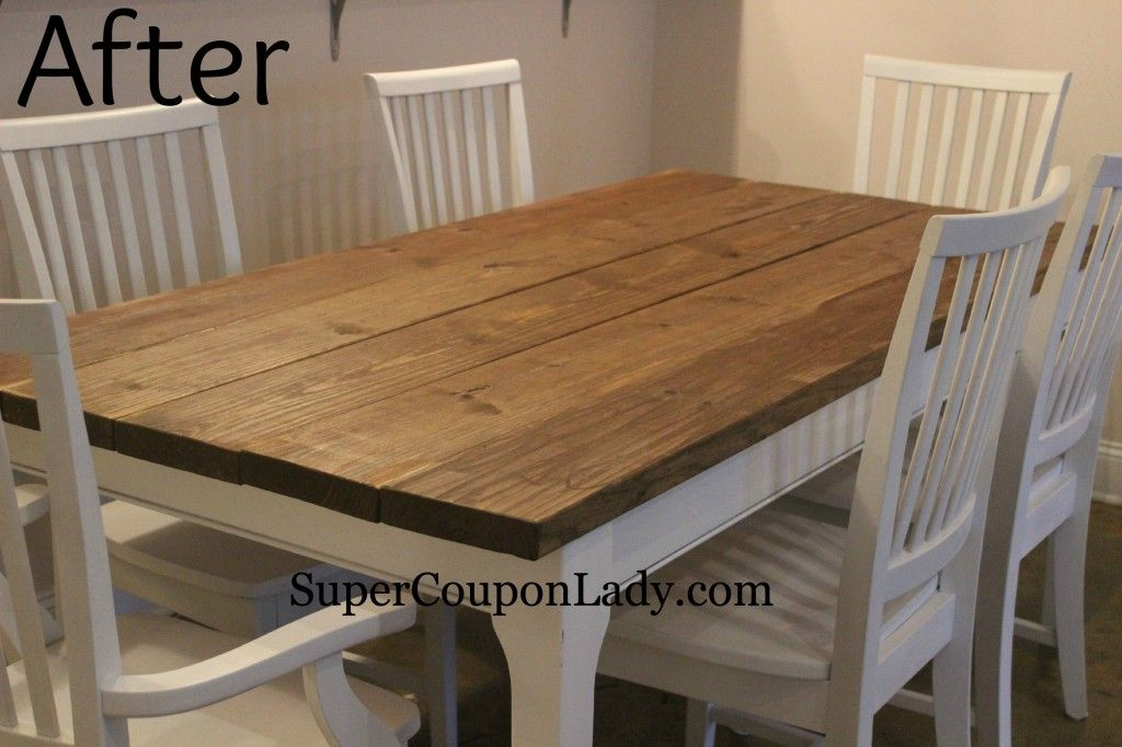 Diy Project Refinishing Dining Room Table Chairs Refinished