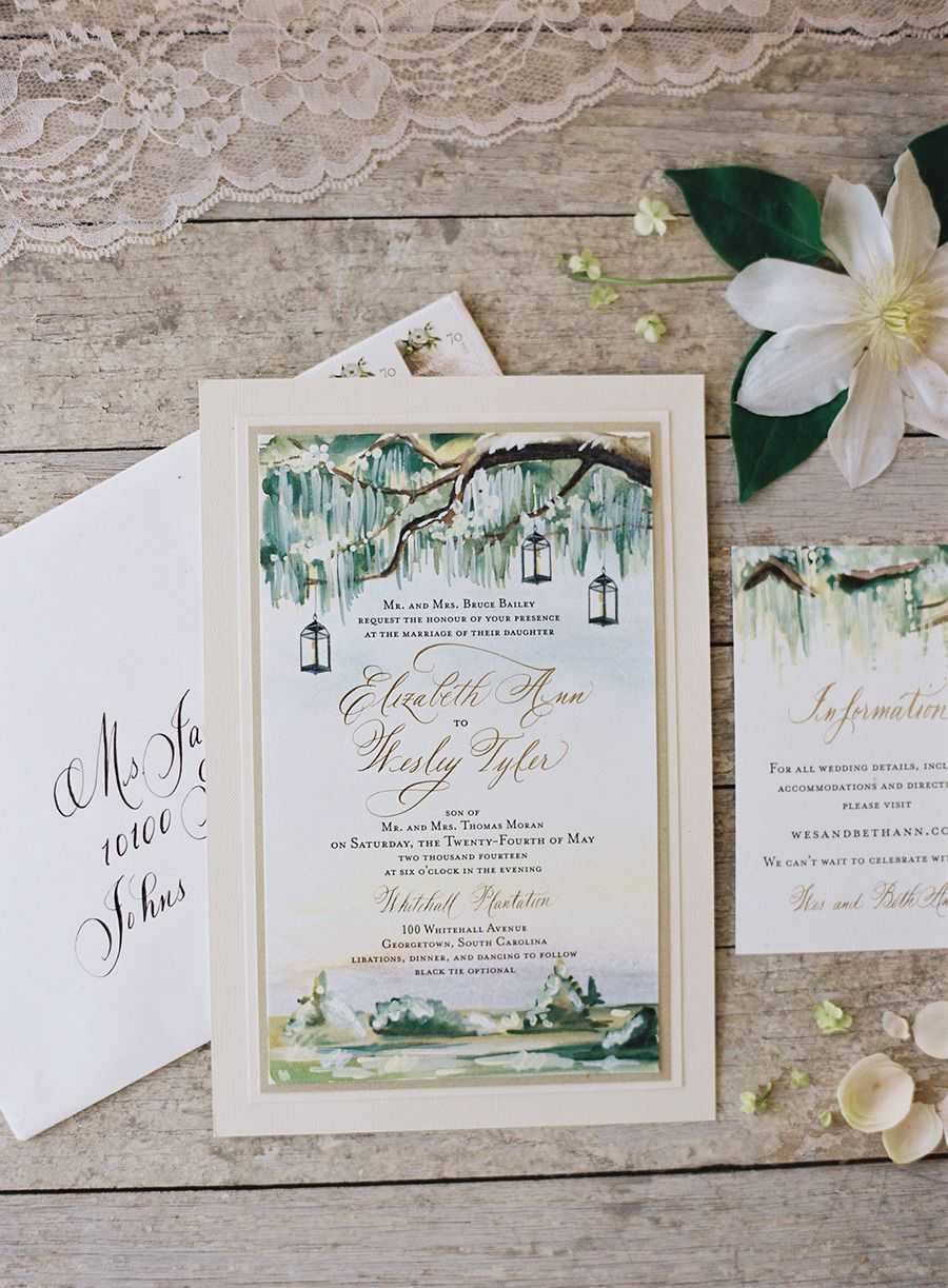 Coastal South Carolina Private Plantation Wedding Plantation