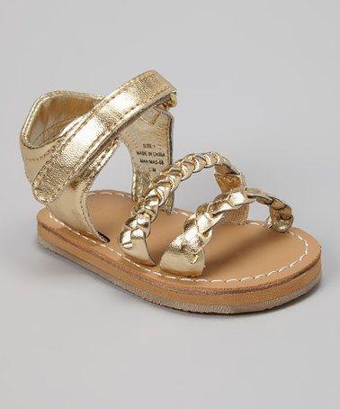 f0021e7b7341 Gold Jamie Weaver Sandal by Cole Haan  zulily  zulilyfinds