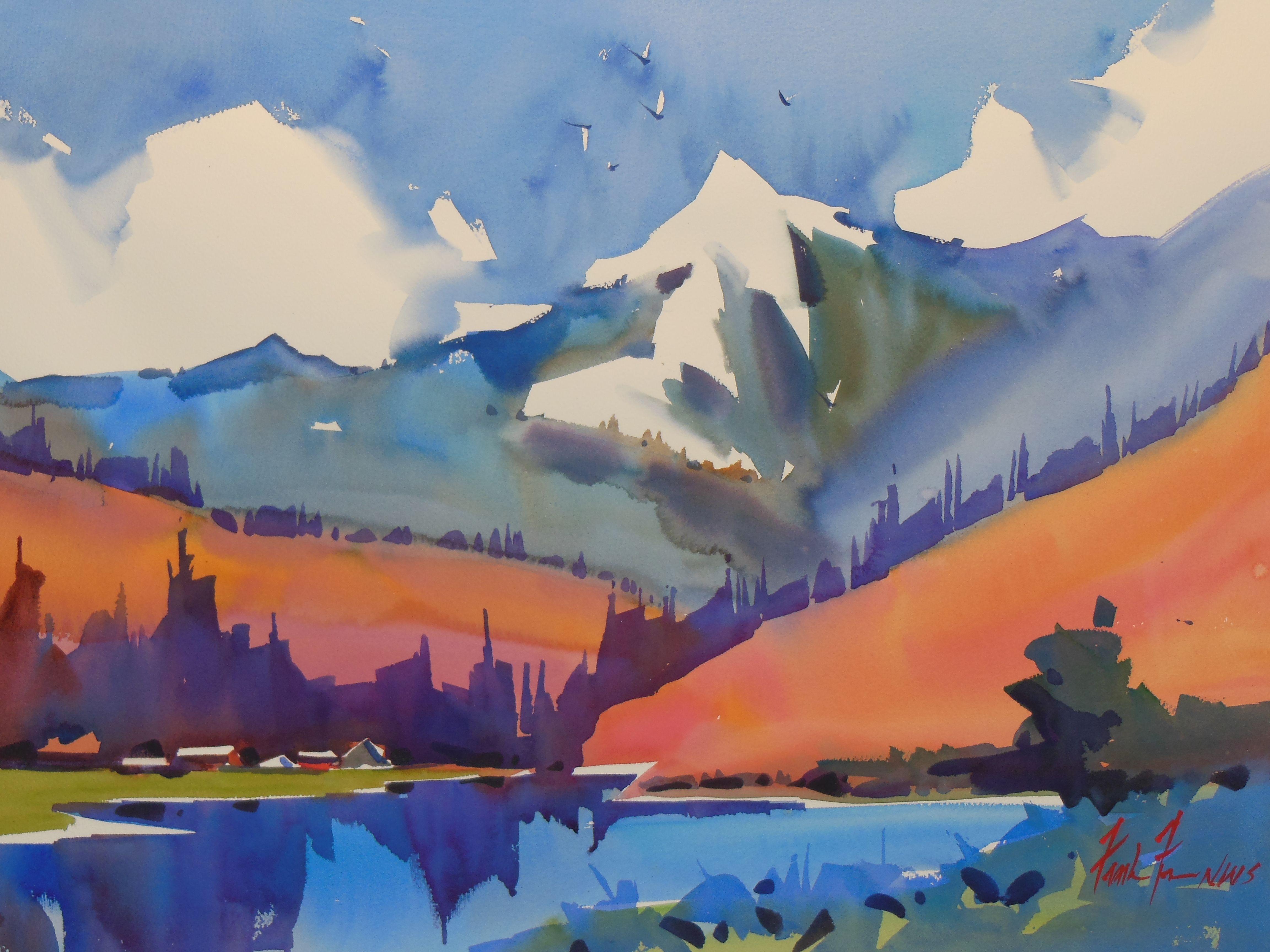 Watercolor artist magazine customer service - Watercolor Artist Frank Francese Nws Montana Watercolors 2013