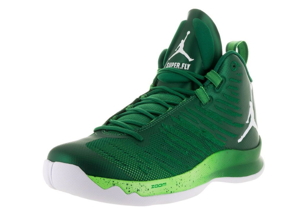 92d93ccb7206 RARE BRAND NEW NIKE AIR JORDAN MENS SUPER.FLY 5 INFRARED 23 GREEN SHOES  844677 #Nike #BasketballShoes