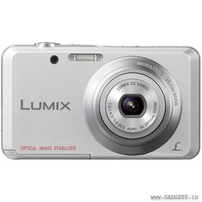 Panasonic Lumix DMC-FH4 Point and Shoot Camera - Silver