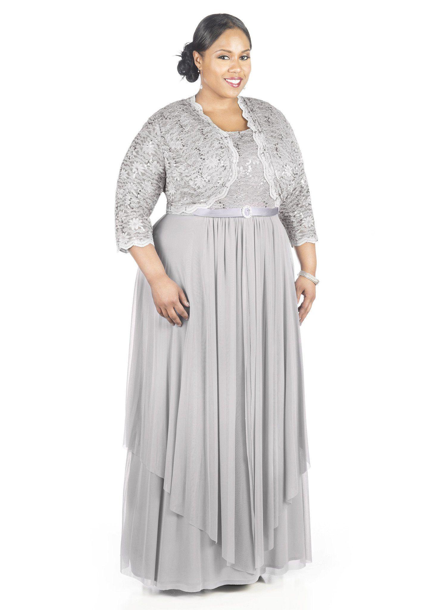 a106d4cfbd0 R M Richards Women s Plus Size Formal Jacket Dress - Mother of the Bride  Dress