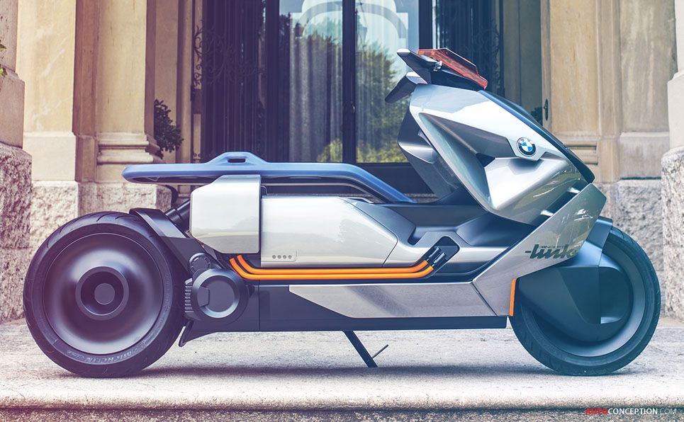 Bmw Motorrad Reveals Futuristic Zero Emission Bike Concept Autoconception Com Bmw Motorrad Super Bikes Bmw