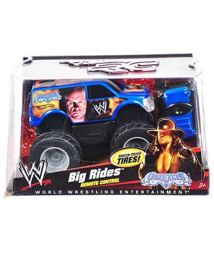 Discount Wwe The Undertaker Hot Wheels Remote Control Truck Big Ride Remote Control Trucks Hot Wheels