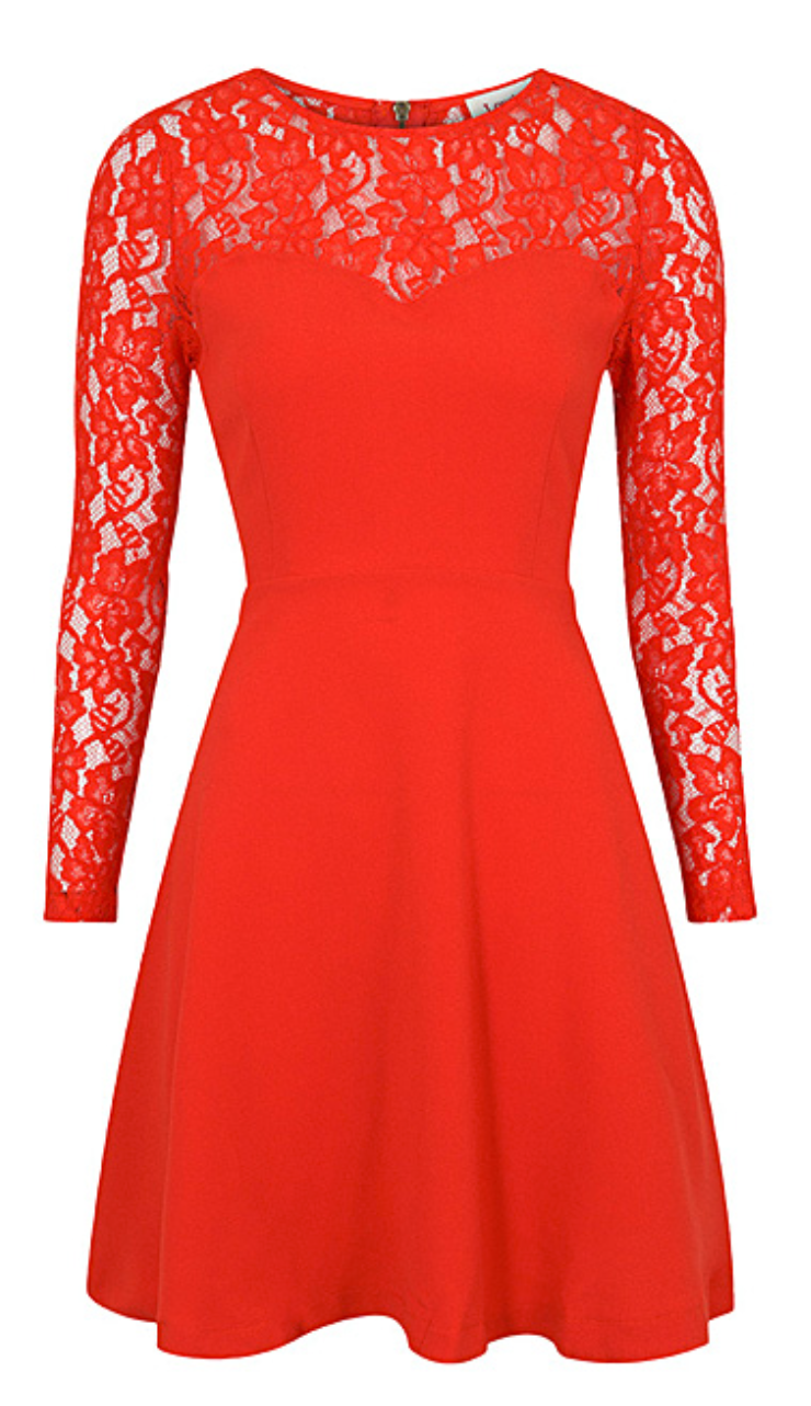 Red lace dress clothes pinterest red lace lace dress and clothes