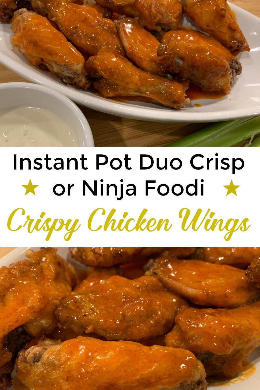 Instant pot duo crisp chicken wings in 2020 air fryer
