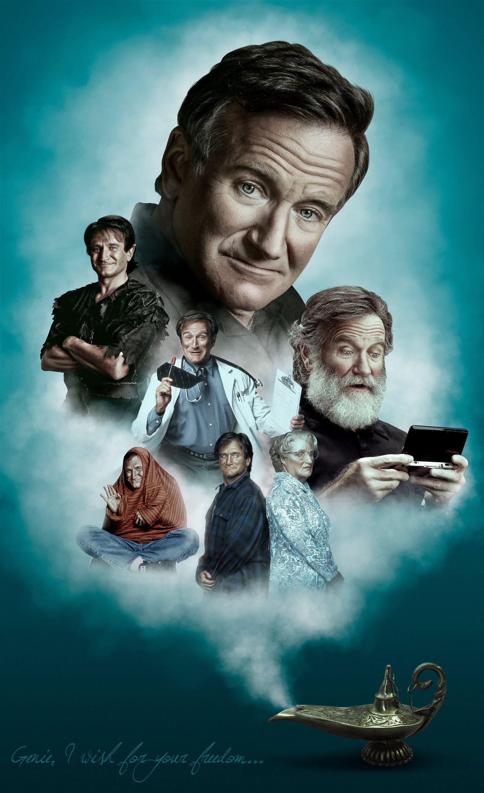 Robin Williams Tribute   Robin williams art, Robin williams, Robin ...